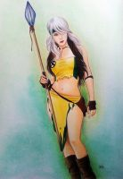 Savage Land Rogue by leiaolliver