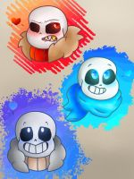 Little Bone Heads by TyelerKostlan