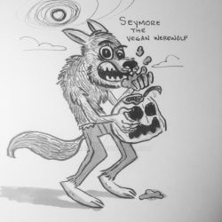 Seymore the Vegan Werewolf by madtiki