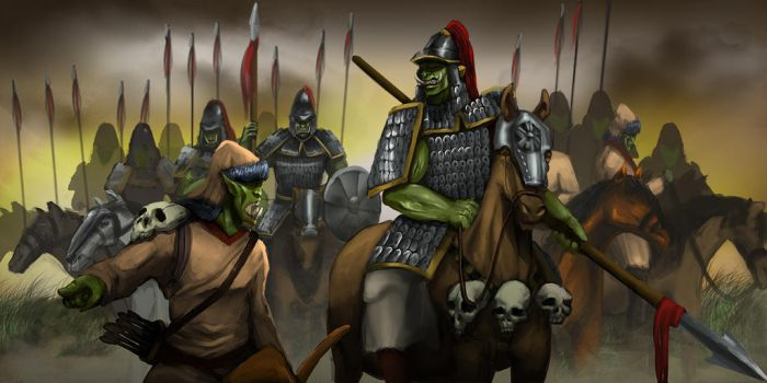 Orcish Golden Horde by atorot