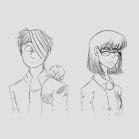 HeadShots of Alex and Lucia (Clean) by StantheSpider
