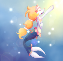 Shiny Primarina (Color test) by Alexxxa4