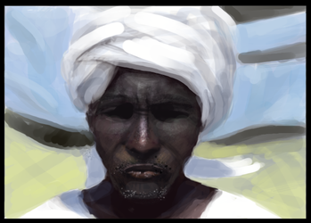 Study of an African Male by RavenousFire