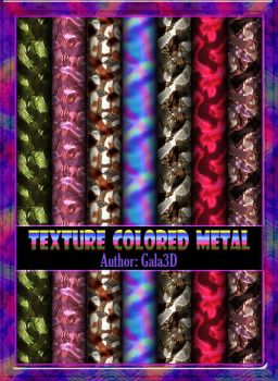 Texture colored metal by Gala3d