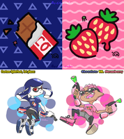 CP_Custom Splatfest: Which flavour do you like? by Chivi-chivik