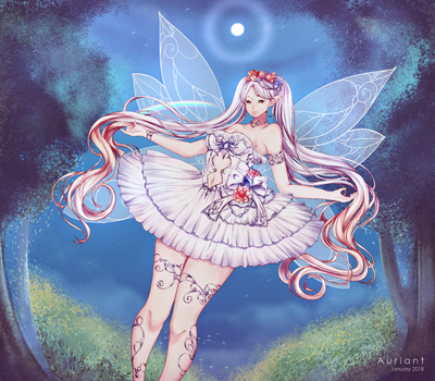Faerie's Greeting by Auriant