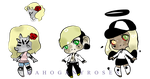 The Blonde adoptables .Open. by mahoganyroses