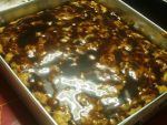 Banana bread with choco fudge by willowqueen