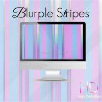 Blurple Stripes by candybubblesweety