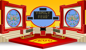 Family Feud Challenge set - 1992 by wheelgenius