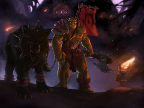 For the Horde by Nelson-Koj