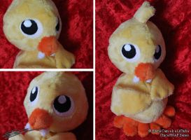 Chica Five Nights at Freddys 3 inspired Plushie by LiChiba