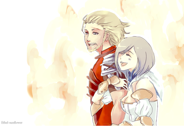 Commission Basch and Ashe by Ethel-Sunflower