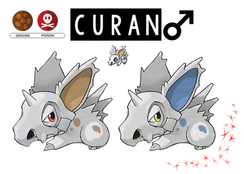 Pokemon Fusion Photoshop~Curan~ by Xbox-DS-Gameboy