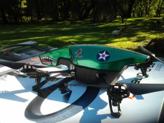P-40 DroneHawk by Dangerskillz