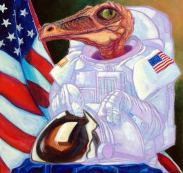 A Proud Day for Mission Commander Skrawk by bmoss