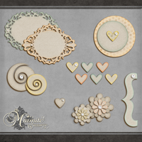 Country Garden Elements by DaydreamersDesigns
