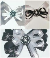 Star Wars Galactic Empire Logo Hair Bows by wolf-girl87