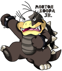 Morton Koopa Jr. by Tails19950