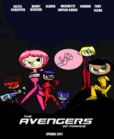 The Avengers of France by TRC-Tooniversity