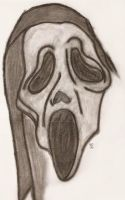 Scream 'Ghostface' Mask by policegirl01