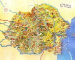 Romania - Cool Map by Zaigwast