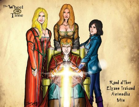 Wheel of Time: Rand and Wives by darlinginc