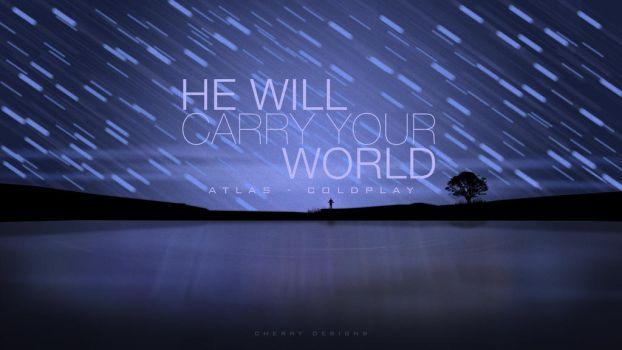 Carry Your World - Coldplay Atlas inspired art by CherryConcepts
