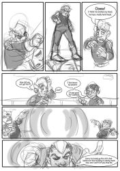 evo contest comic round 4.13 by Prydester