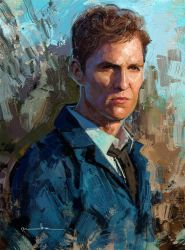 Rust Cohle / True Detective by imorawetz