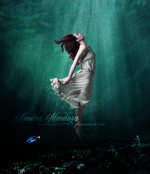 Submerged in the Sea -Fotomanipulacion by kendra19082002