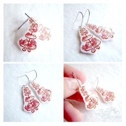 Cupcake tower earrings by caithness-shop
