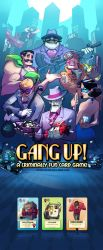 GangUp! Cover Image by RobinKeijzer