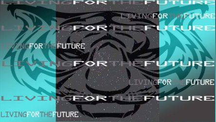 Tiger Space Future wallpaper by LivingForTheFuture