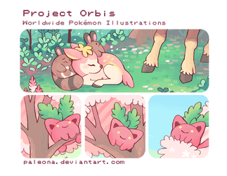 Project Orbis zine preview by Paleona