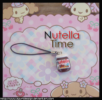 Nutella Phone Strap by AyumiDesign