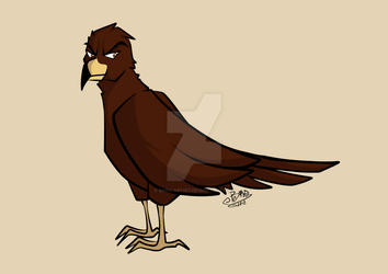 Zooly Art Challenge - Day 2: Eagle by Bard-Artist