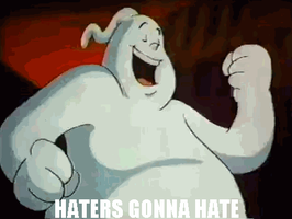 The Real Ghostbusters: Haters Gonna Hate (Logo) by Ghostbustersmaniac