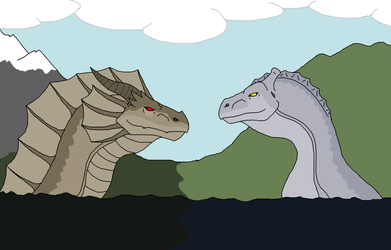 Storie meets Nessie by Redspets