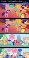 Short #1: The 4 Royal Pony Sisters Part 2 by EmoshyVinyl