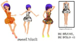 MMD Outfit K003 by FaiyeeMMD