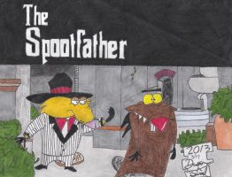The Angry Beavers: Norbert as The Spootfather by Melbrooksjew