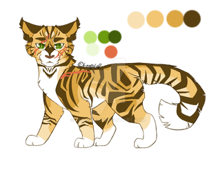 Name/Personality Adopt 1 Yellowclaw CLOSED by leafstep