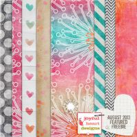 Featured Freebie from Aug. 2013 :) by JoyfulHeartDesigns