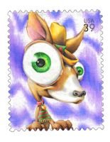 Dog Stamp by pockets1987
