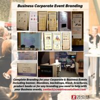 Corporate Business Event Branding services