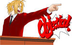 Edward Elric - Ace Attorney by Phoenix-is-Wright
