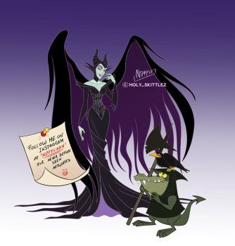 Maleficient by Nippy13