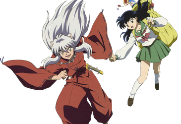 InuYasha - Scan Clean and PNG by QueenaKurai