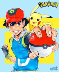 Ash Catch 'Em All by WhytManga